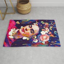 Frida Repro Painting Rug
