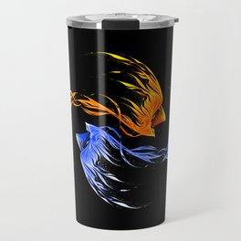 Phoenix Ice And Fire Travel Mug