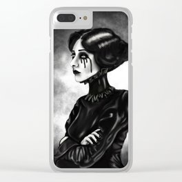 Chin Up Clear iPhone Case