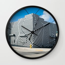 Tattooed Walls form Wynwood Miami Grafitti Wall Clock