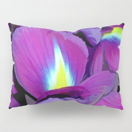 Purple Irises Pillow Sham
