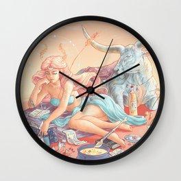 Mead Moon Wall Clock