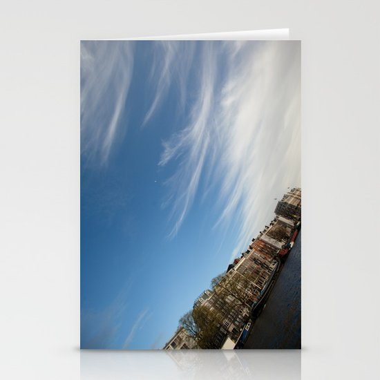 Feathery Clouds Stationery Cards