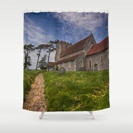 St Andrew Beddingham Shower Curtain