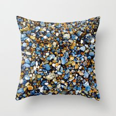Pebbles in Color Throw Pillow