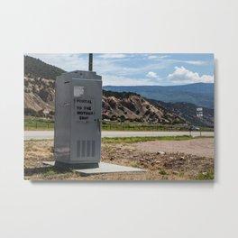 Portal to the Mothership Metal Print