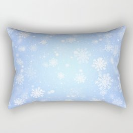 Winter snowflakes Rectangular Pillow