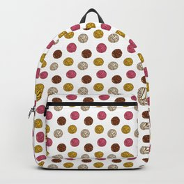 Pan Dulce (white bg) Backpack