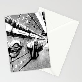 Going Underground Art Stationery Cards