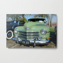 1948 Plymouth Delux Metal Print