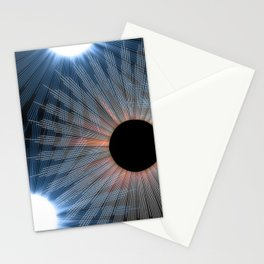 black hole sun Stationery Cards