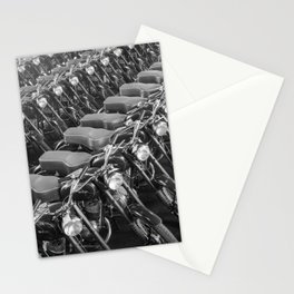 Motorcycles straight from the factory Stationery Cards