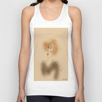 sarah paulson Tank Tops featuring Sarah by Colette