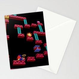 Inside Donkey Kong stage 3 Stationery Cards