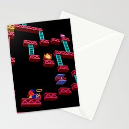 Inside Donkey Kong stage 3 Stationery Cards