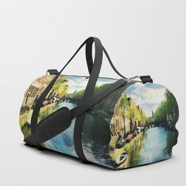 Amsterdam Waterways Duffle Bag