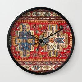 Daghestan Sumakh Northeast Caucasus Rug Print Wall Clock