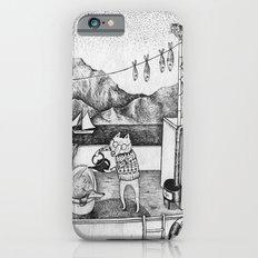 Fox on Fishing-boat iPhone 6s Slim Case