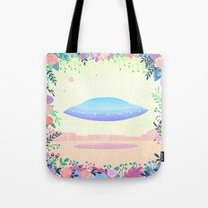 Floral UFO 1 Tote Bag
