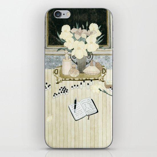 Perfumer at work iPhone & iPod Skin