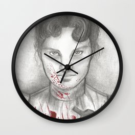 Someone Has Killed Father Wall Clock