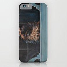 Ragdoll Cat Blue Eyes Inside (screen door with gingerbread)  iPhone 6s Slim Case