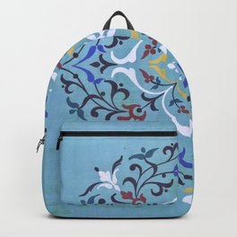 Calligraphy Flower Backpack