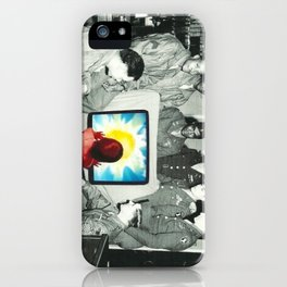 Blind leading the blind iPhone Case