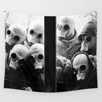 creepy Wall Tapestries featuring Creepy Spys by Maioriz Home