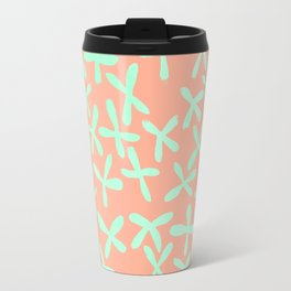 Sweet Life Firefly Peach Coral + Mint Meringue Travel Mug