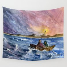 Storm Chased Wall Tapestry