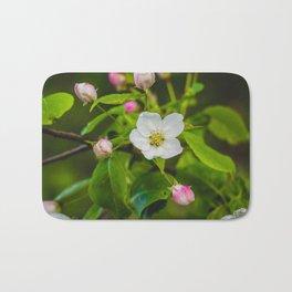 Crabapple Blossoms 4 Bath Mat