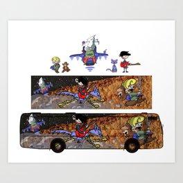 Bus Design Art Print