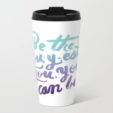 You - Inspiration Print Metal Travel Mug