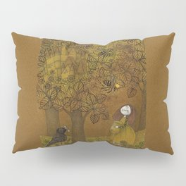 The Queen of Bees and the Princess who loved Honey Pillow Sham