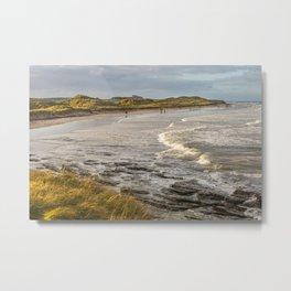 Seahouses Beach Metal Print