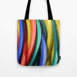 Colored Rubbers Tote Bag