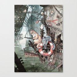 Shipcatville Canvas Print