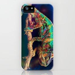 KARMACHAMELEON iPhone Case