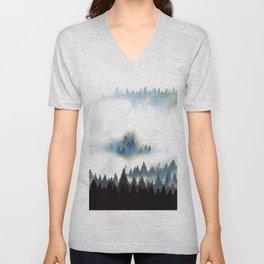 Fog Forest Unisex V-Neck