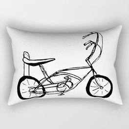 Schwinn Stingray Bicycle Rectangular Pillow