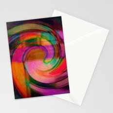 Psychedelic Swirl Stationery Cards