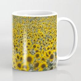 Sea of Sunflowers Coffee Mug