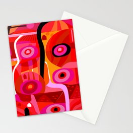 Zacatecas (Red) Stationery Cards