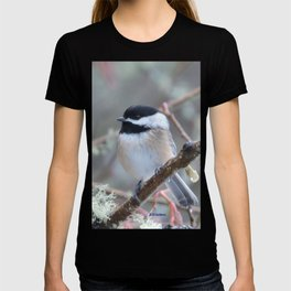 Chickadee in the Alder Tree T-shirt