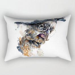 FACE#4 Rectangular Pillow