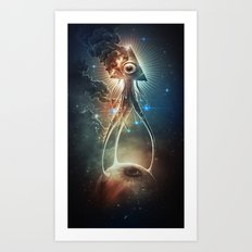 War Of The Worlds II. Art Print