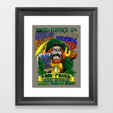 March 17, 2004 at The Pyramid Framed Art Print