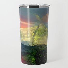 Green Everest Travel Mug