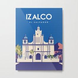 El Salvador Izalco Metal Print